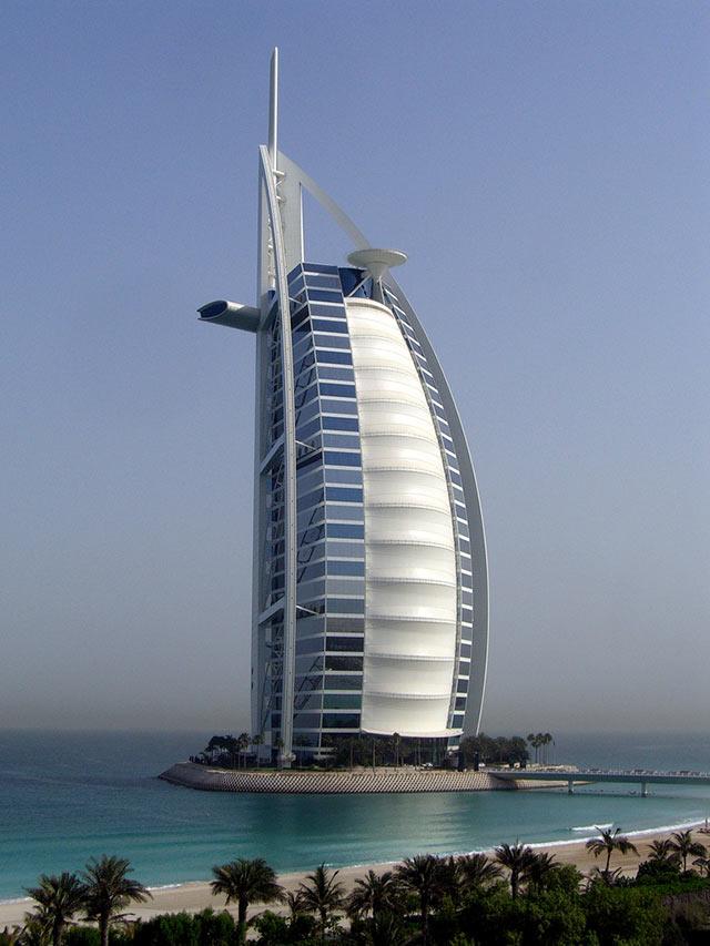 Burj al Arab ( Dubai , UAE)
